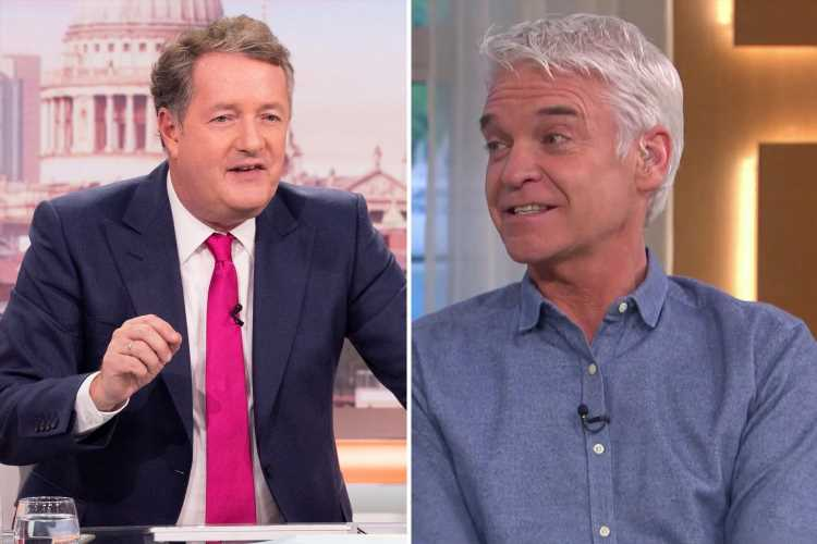 Philip Schofield takes brutal dig at Piers Morgan saying 'he's got a lot of time on his hands'