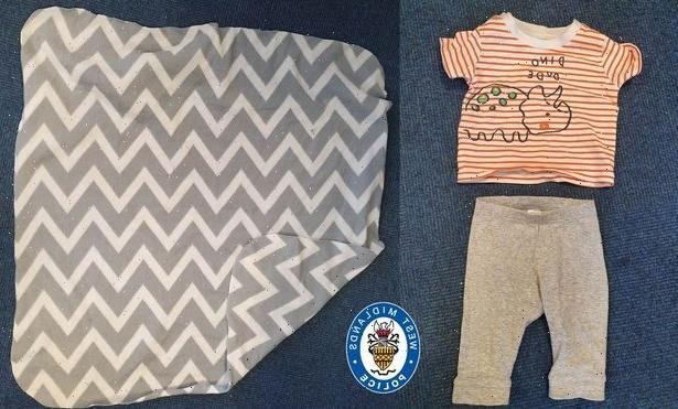 Police release pic of £1 Matalan T-shirt baby boy was wearing when he was found in park as cops search for mum