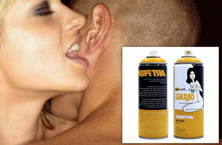Pornhub now has its own line of spray paint
