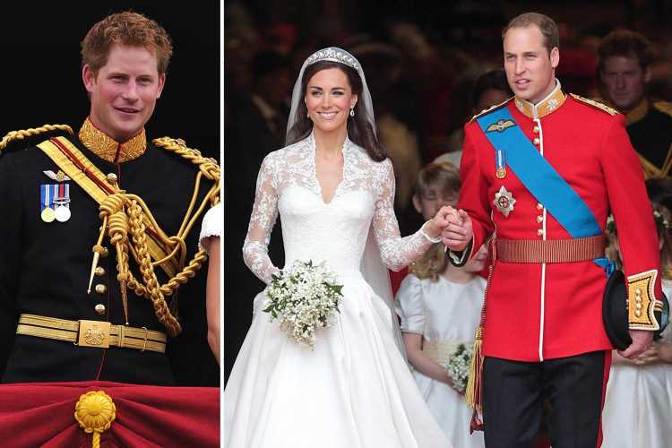 Prince Harry once revealed Kate Middleton's hugely embarrassing nickname for William in best man speech at their wedding