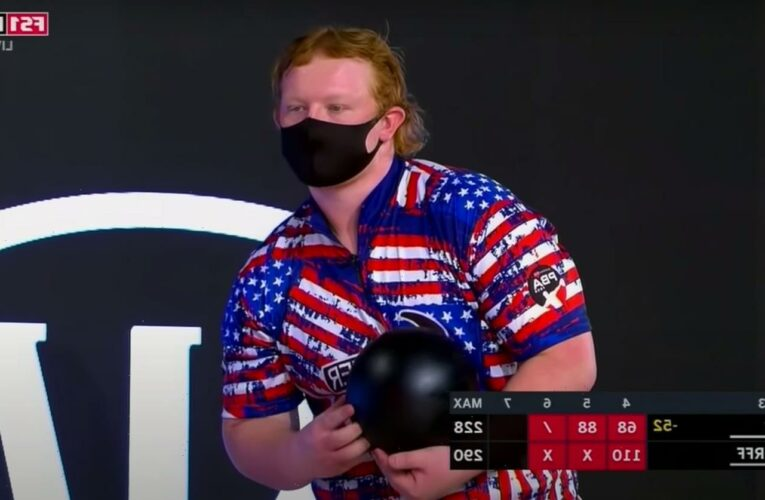 Professional Bowler Nicknamed 'Ginger Assassin' Hits First 7-10 Split on TV in 30 Years