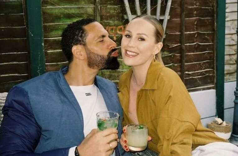 Rio Ferdinand praises Kate for making him a 'better man' after being 'so low' following his first wife Rebecca's death