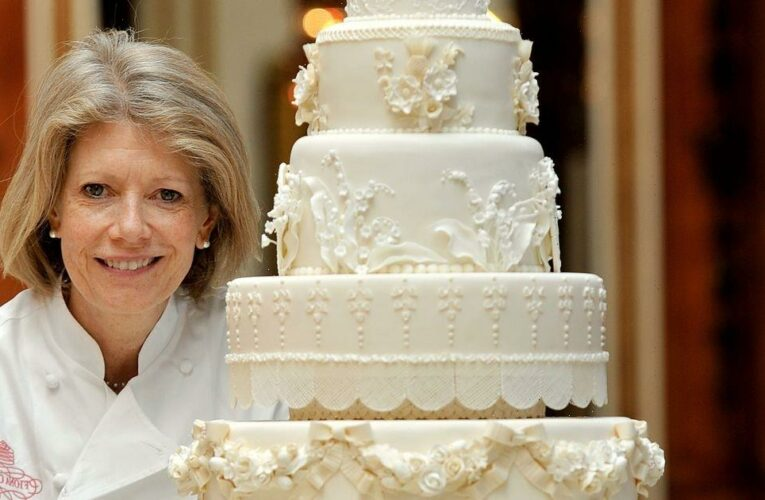 Royal wedding baker Fiona Cairns reveals she 'had sleepless nights making Kate and Wills' wedding cake'