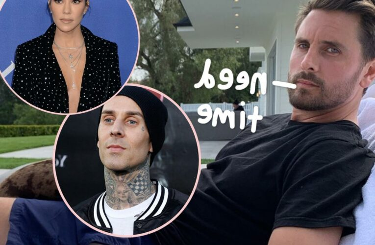 Scott Disick Continues To Struggle With Kourtney Kardashian & Travis Barker's Relationship – Latest Details