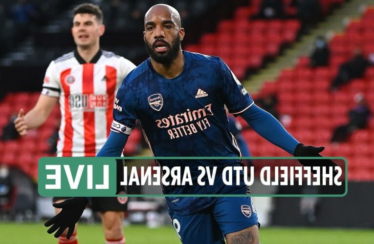 Sheffield Utd vs Arsenal LIVE: Stream FREE, TV channel as Lacazette scores after STUNNING move – latest updates