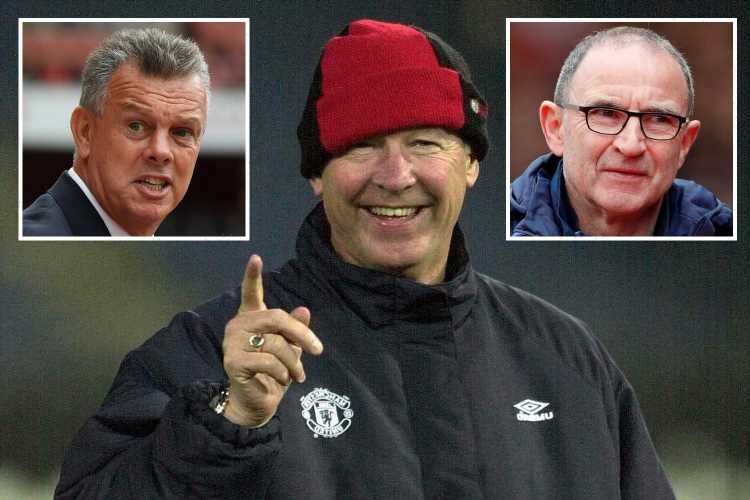Sir Alex Ferguson chose David O'Leary, Alan Curbishley and Martin O'Neill as his Man Utd successors in 2000 if he quit