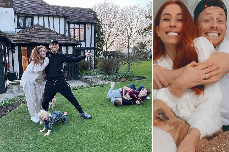 Stacey Solomon confirms she will have wedding to Joe Swash at her new £1.2m home after fearing it wouldn't be possible