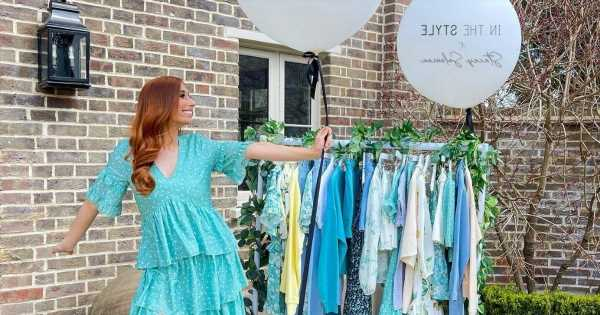 Stacey Solomon unveils much-anticipated clothing collection ahead of its launch and we want it all