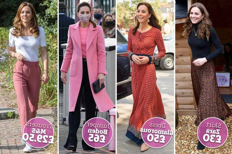 Ten years after she became a Duchess, why Kate Middleton is queen of the high street