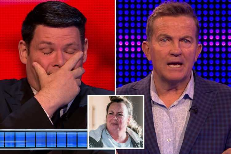 The Chase duo make off with £15,000 after The Beast trips up on tricky EastEnders question