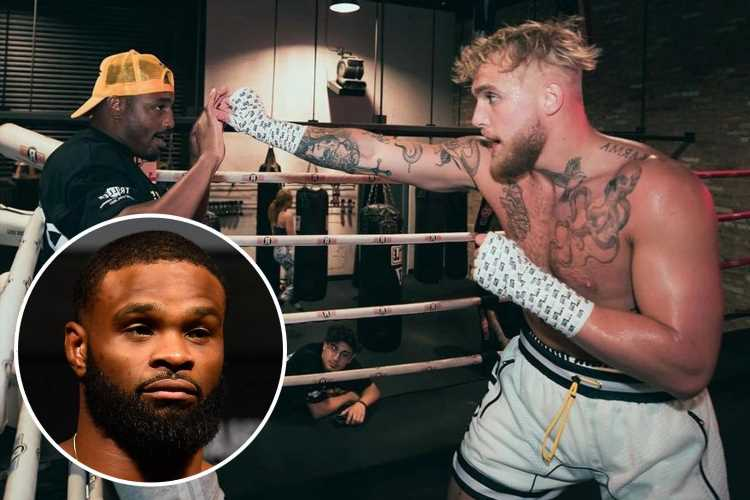Tyron Woodley calls out Jake Paul for boxing fight after backstage row & wants MMA bout with YouTuber's pal J'Leon Love