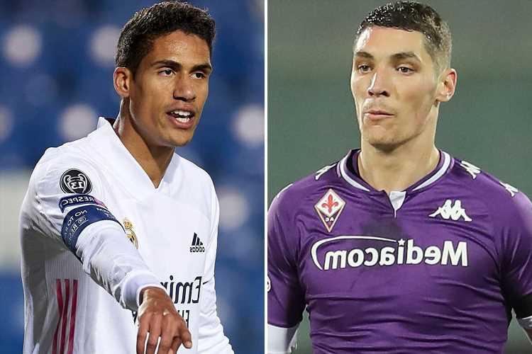 Varane, Kounde, Milenkovic, Gimenez: Which defenders Man Utd and Chelsea should sign in summer transfer window