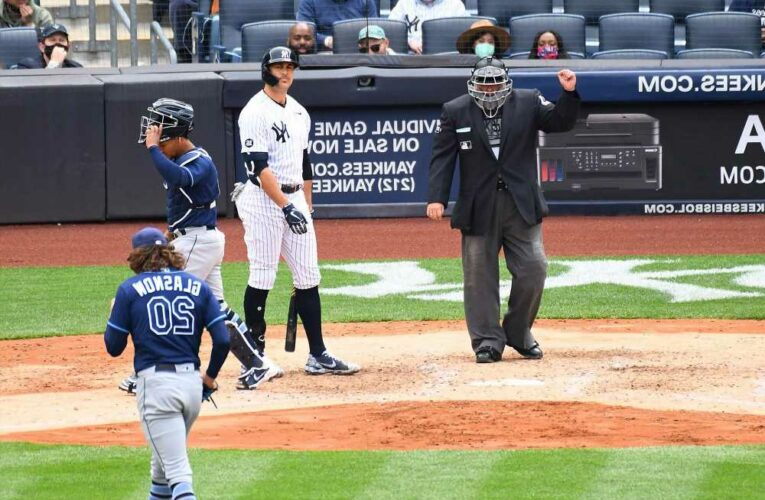 Yankees can't solve Rays again even after stern Aaron Boone talk