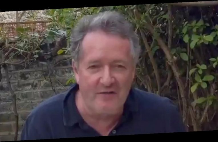 Piers Morgan begs fans to buy his new book now he's an 'old jobless man'