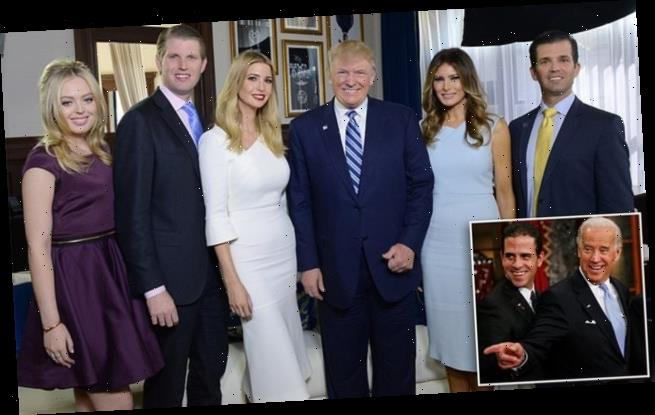 Father-of-five Trump brags about his success as a dad