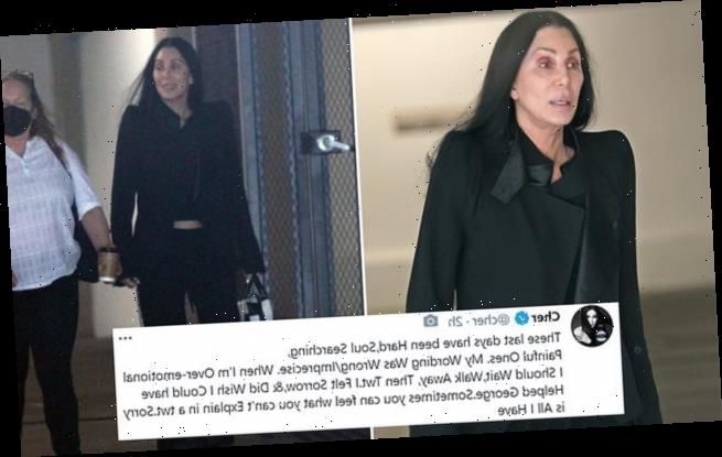 Cher apologizes for her 'emotional' tweets about saving George Floyd