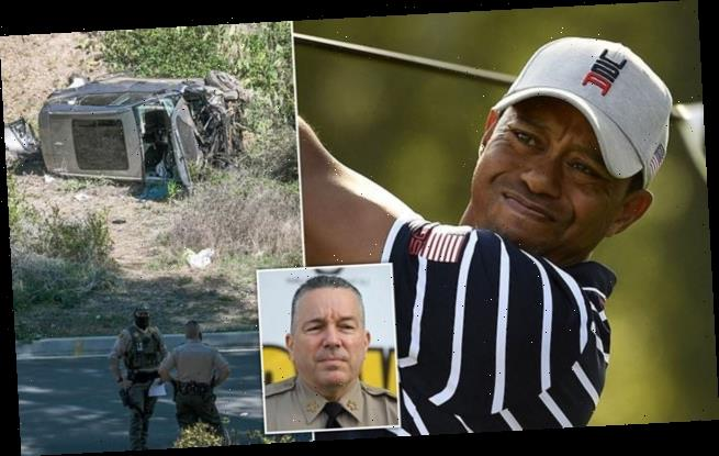 Sheriff to reveal 'speed cause of Tiger Woods' near-fatal car crash'