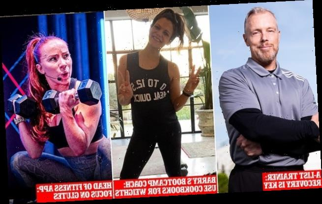 Celebrity personal trainers reveals how to workout at home