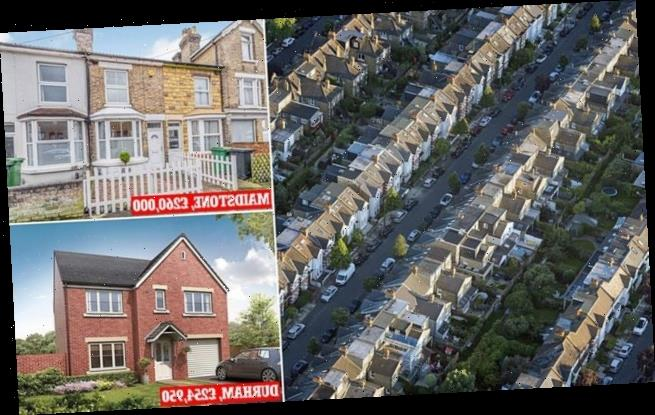 Halifax: Average UK house prices hit record high of £254,606 in March