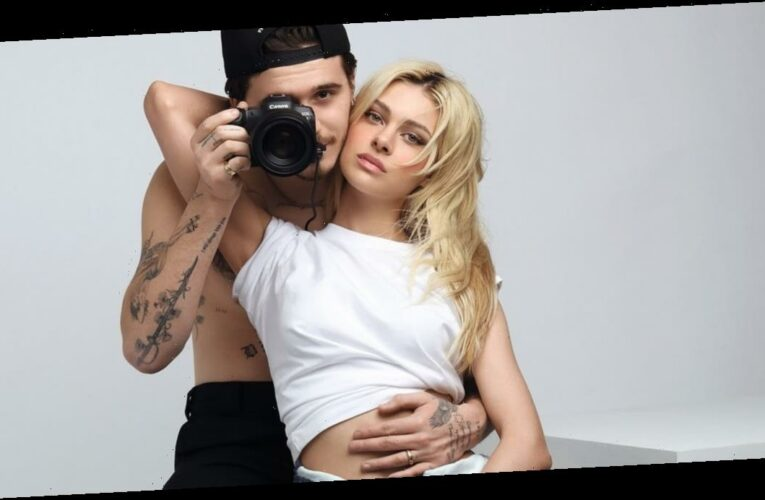 This Sexy Vogue Germany Shot of Brooklyn Beckham and Nicola Peltz Already Feels Iconic