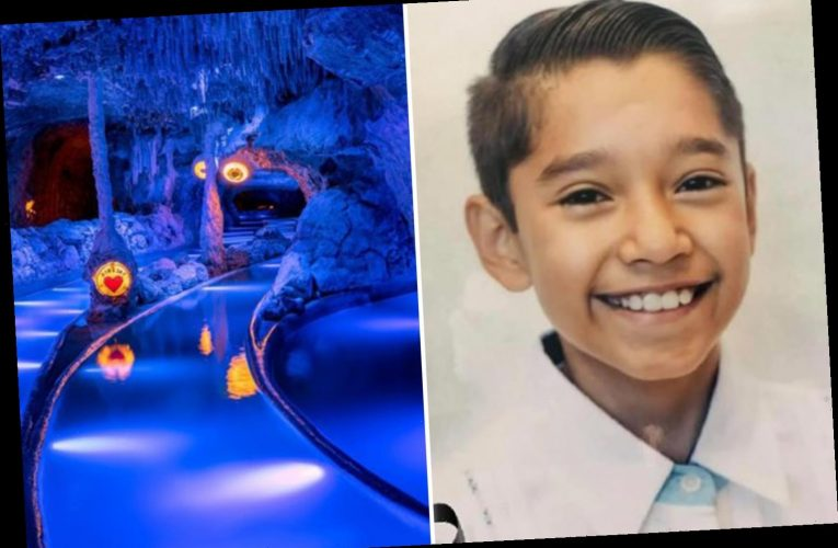 Boy, 13, drowned when his leg got sucked into filter at water park near Cancun as dad desperately tried to save him