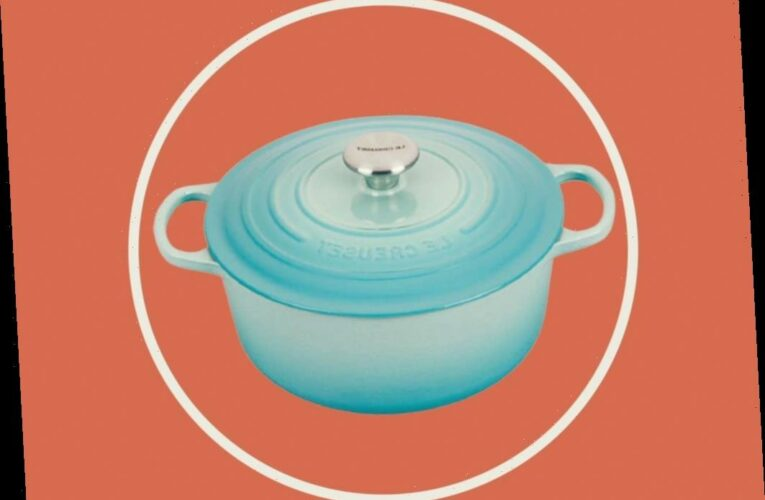 Le Creuset Just Released a New Color & It's the Coolest One Yet