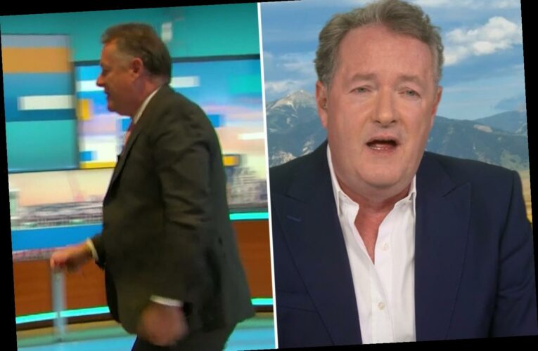 Piers Morgan admits he regrets storming off Good Morning Britain in angry outburst but 'can look himself in the mirror'