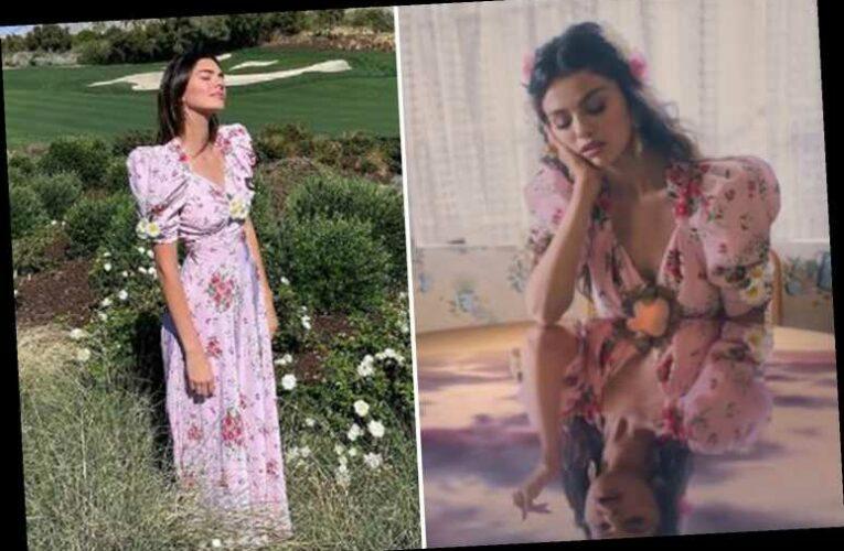 Kendall Jenner slammed for 'claiming she wore $2.6K pink floral dress better than ex-friend Selena Gomez'