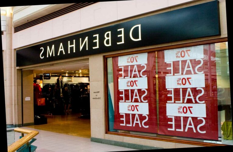 Debenhams to reopen all stores in England and Wales next week for massive final closing down sale