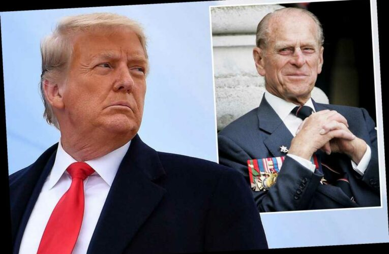 Trump honors Prince Philip for embodying 'dignity and grace'
