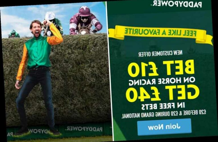 Horse racing betting offer: Get £40 in FREE BETS to split on the Grand National