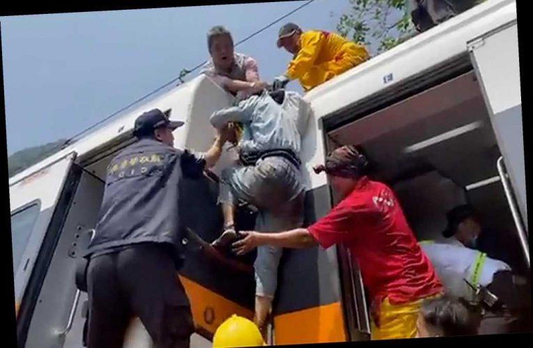 Train crash in Taiwan kills 34 people, injures dozens more
