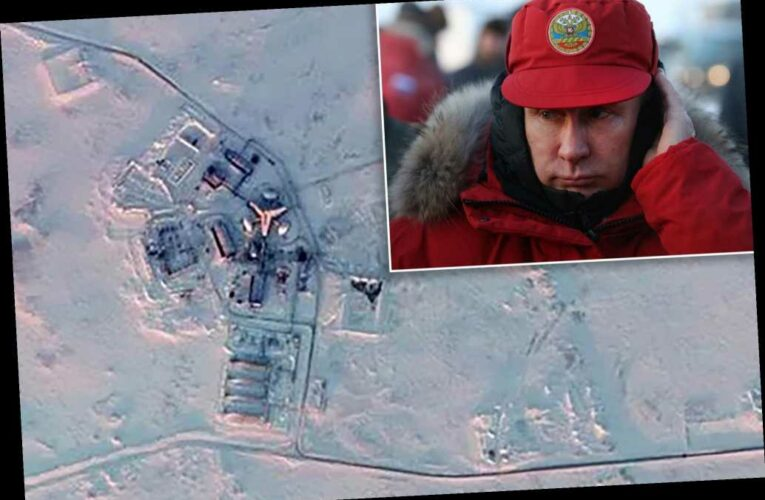 Russia builds up massive military arsenal in Arctic, new satellite images show