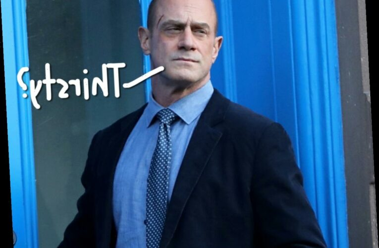 Law & Order Star Christopher Meloni Responds After His Huge Butt Breaks Twitter!!