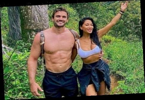 Nicole Scherzinger and Thom Evans show off unbelievable abs on Easter hike in Hawaii – without a chocolate in sight
