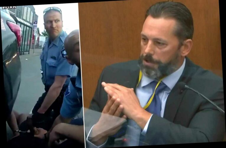 Minneapolis PD use-of-force trainer says Chauvin knee restraint never authorized