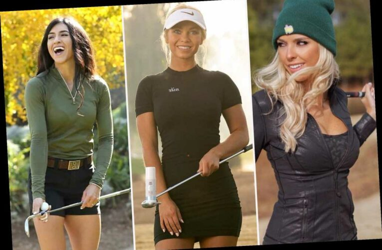 The Instagram golf stars trying to be the next Paige Spiranac