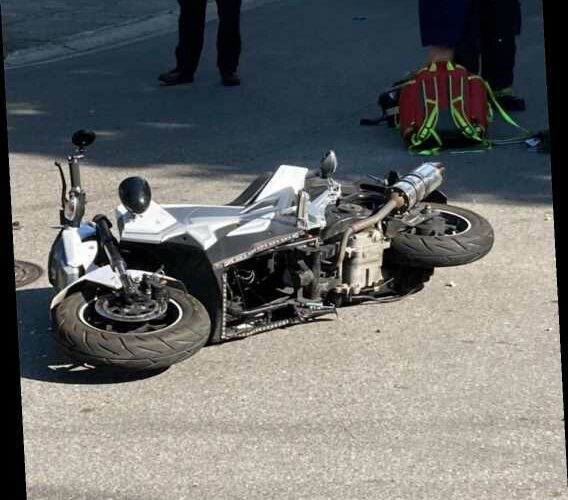 Florida Man Allegedly Had Toddler on His Lap When He Crashed His Motorcycle