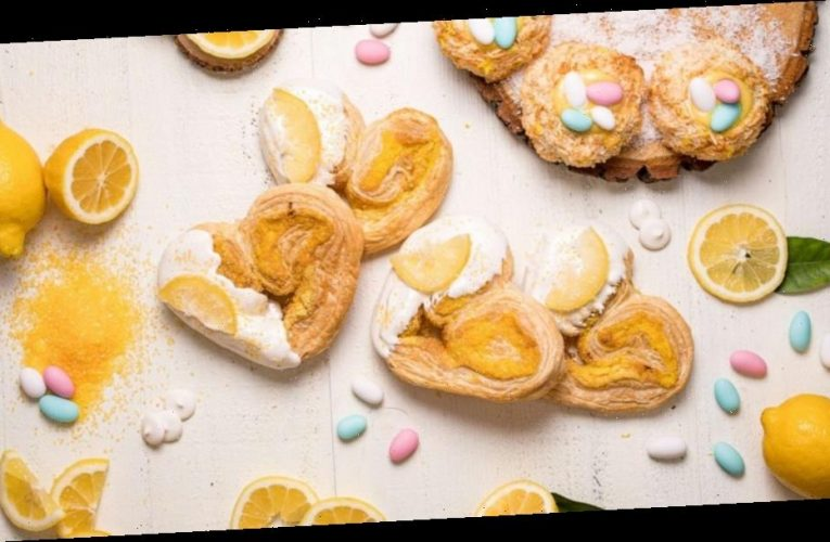 These sweet lemon desserts are perfect for any Easter table