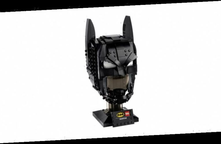 LEGO and DC Team up for Collectible Batman Cowl