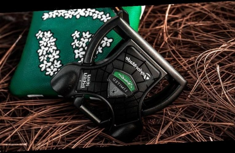 TaylorMade Unveils The Dustin Johnson Itsy Bitsy Spider Limited Edition Putter