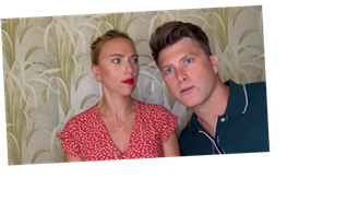 Colin Jost Crashes Scarlett Johansson's Appearance on 'Drag Race'