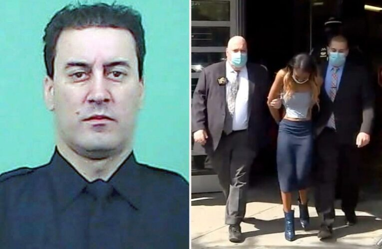 'Cop killer' Jessica Beauvais, 32, held without bail as hit-and-run victim hailed as a 'hero officer'
