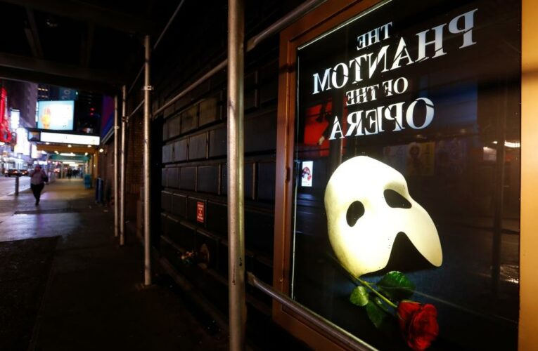 'The Phantom Of The Opera' Announces Broadway Reopening