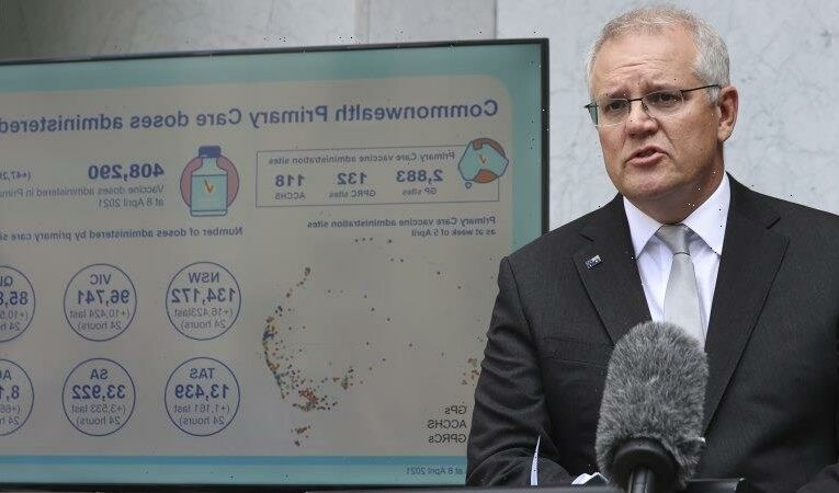 A freight train of money has Coalition ahead but vaccines still a worry: Poll
