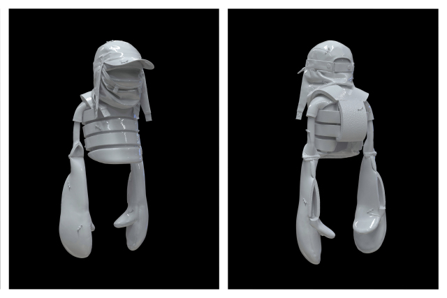 Aitor Throup Introduces Latest Fashion Project With NFT Art