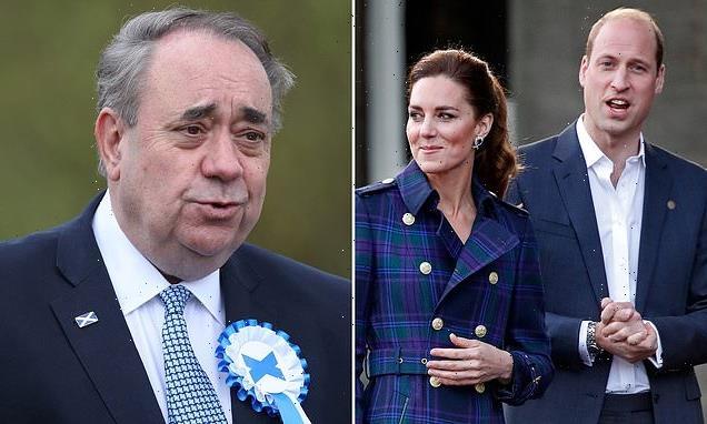 Alex Salmond blasts William over 'foolish' meeting with Gordon Brown