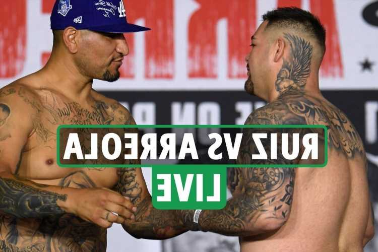 Andy Ruiz Jr vs Chris Arreola LIVE RESULTS: Ruiz DROPPED in round two – latest round-by-round updates