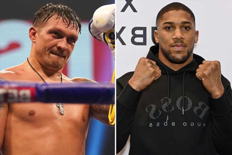 Anthony Joshua and Oleksandr Usyk to hold talks TODAY over fight with Tyson Fury clash in doubt over Wilder clause