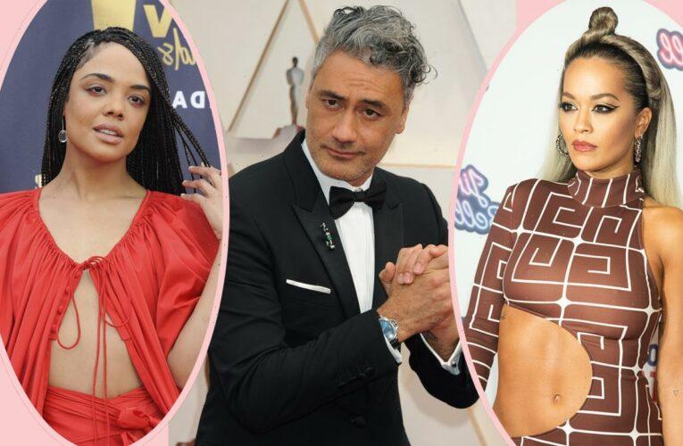 Are Rita Ora & Tessa Thompson In A THROUPLE With Thor Director Taika Waititi?!